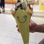 フタバフルーツパーラー  - 2020年7月 ごろっとバナナクレープ(チョコ、生クリーム)¥550