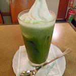 シャノアール - 抹茶フロート