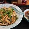 中華飯店青柳 - 料理写真:ピーマン肉細切丼