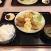 むかしながらの洋食や - 料理写真:エビフライセット