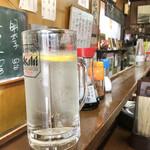 銚子屋 - ここの酎ハイが好きすぎる