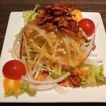 Turu no Omotenashi - カリカリベーコンと大根のサラダ