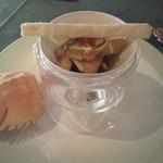 13363001 - ウチワ海老のガーリック紫蘇炒め