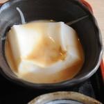 香風 - ピーナツ豆腐