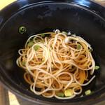 魚河岸割烹 鮮 - 料理写真:汁物は素麺