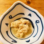 酒菜と炭 てりや - 鯛子の煮物