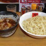 ラーメン剣信 - 醤油つけ麺 803円 ひや盛 中