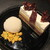 HATSUNEYA GARDEN CAFE - 本日の小菓子とアイス