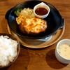 セカンド キッチン ハマ - 料理写真:三種のチーズハンバーグセット(税込1496円)