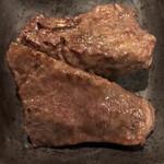 A4山形牛&焼肉食べ放題 くろべこ - ハラミ 焼き上がり