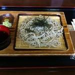喫茶 ふきのとう - 料理写真:ざる蕎麦