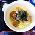 シャトレーゼ C.C.マサリカップ レストラン - ジンギスカン丼