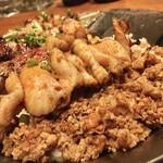yakidoridaininguissui - ひき肉サイド