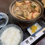 稲乃家 - 料理写真:味噌煮込みうどん定食 ¥750(税込)