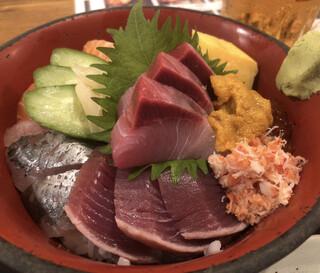 漁十八番 - 海鮮丼あっぷ
