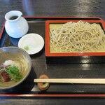 はな月 - 料理写真:梅おろしそば(850円)