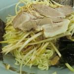 ラーメンショップ - ネギつけ麺