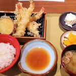 海老勝 - 海老天ぷら定食