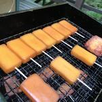 森のささやき - 料理写真:燻製チーズ や 燻製ベーコン