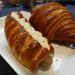 シャン ド ブレ - オーブンで焼いたソーシソンプレッツェル