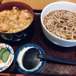 寺田家 - 親子丼セット(1,000円)