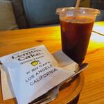 RHC CAFE - ♦︎アメリカーノ ¥550 ♦︎レモンケーキ ¥385