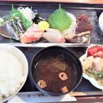 HARU - ろくグループ自慢のお刺身定食1,000円(税込)