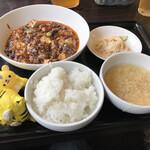 Chirirenge - 麻婆豆腐ランチ950円(税込)