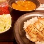 Darjeeling Spice - ポークステーキカレー