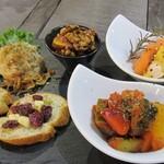 肉×野菜バル WTe - おまかせ前菜盛り合せ