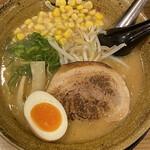 麺家 一進 - 料理写真:熟成合わせみそラーメン  コーン 半玉子