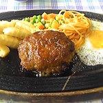 きよし - 料理写真:手作りハンバーグ1000円。