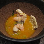 Varies - 鮑 甘鯛 甘海老 海鮮頂湯 バジル サフラン トマトコンソメ 金華ハム