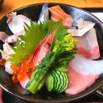 133681786 - 海鮮丼1200円