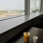 アミーチデルテ - ドリンクと空港。