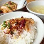 中華料理 信悦 - よだれ鶏ランチ
