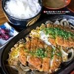 大黒屋ドライブイン  - カツ煮定食