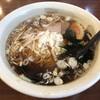 皆楽亭 - 料理写真:セットラーメン 鰹ダシで美味い
