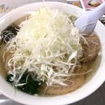 おおもり - ネギチャーシュー麺