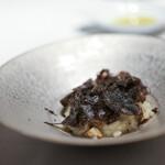 カーザデッラマンテ - イタリア産・オーヴォリ茸のリゾット オーストラリア産・黒トリュフ☆