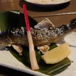 和食処 田舎家 - 鮎の塩焼き