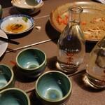 和食処 田舎家 - 四季桜の熱燗