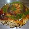 どんどん - 料理写真:そば肉玉、そば大盛り、イカ天トッピング
