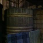 結城酒造 - 大きな木桶