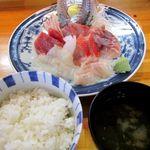 福喜庵かに料理 - 料理写真:刺身定食 1260円