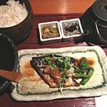 八十八楽 - 日替わりBランチ(鯖の文化干し)