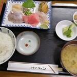 港のごはんやさん - 刺身定食1500円