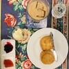 ティーハウス サラ - 料理写真:スコーンとアイスミルクティー