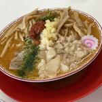 中華そば ラッキー - 辛味噌ラーメン(メンマTP)