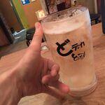 水炊き・焼鳥 とりいちず酒場 - どデカハイボール390円+濃い目0円